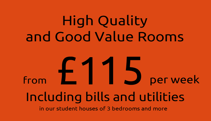 Call now to register for Northampton student house and flats